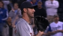 Verlander throws late heat