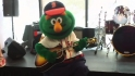 Green Monster visits Fan Cave