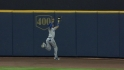 Kemp's leaping catch