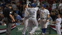 Rangers' eight-run eighth