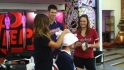 Mauer's hair visits the Fan Cave