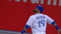 Bautista's leaping catch