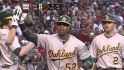 Cespedes' three-run blast