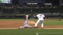 Pierzynski throws out Davis