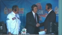 Selig in the booth