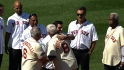 Red Sox legends join ceremonies