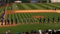 Mariners salute the troops