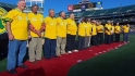 A&#039;s welcome 1972 champs