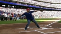 Pudge&#039;s first pitch