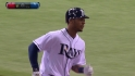 Jennings' leadoff homer