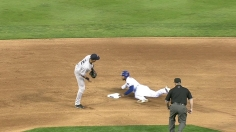 Andrus steals 2nd