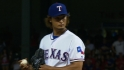 Darvish on his scoreless outing