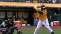 Cespedes&#039; three-hit game