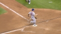 Hairston's two-run double