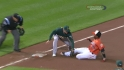 Cespedes&#039; great throw