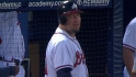 Hinske's four-hit game