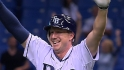 Elliot walks off for Longoria