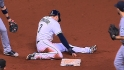 Longoria on torn hamstring