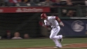 Trout's bunt single