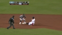 Middlebrooks&#039; first career steal