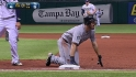 Howell picks off Ackley