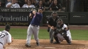 Hafner's two-run shot