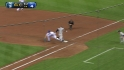 Moustakas&#039; barehanded play