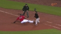 Hardy's fantastic double play