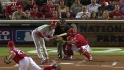 Hamels hit by pitch