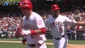 Pujols&#039; first Angels home run