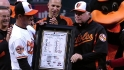 O&#039;s celebrate Showalter