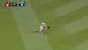 Bourjos' run-saving catch