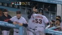 Posey&#039;s RBI single