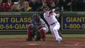 Pedroia&#039;s solo home run