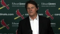 La Russa on his retired number