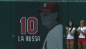 Cards retire La Russa's number