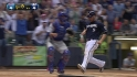Lucroy's bases-clearing double