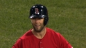 Pedroia's three hits