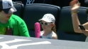 Jeter gives away pink bat
