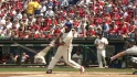 Rollins&#039; leadoff homer