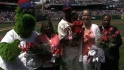 Phillies&#039; Mother&#039;s Day ceremony