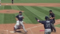 Heyward's bases-clearing double