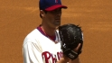 Hamels earns fifth win