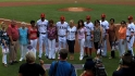 Rangers honor their mothers