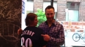 Lucroy visits the Fan Cave