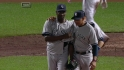 Soriano shuts the door