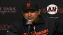 Bochy on Giants' 3-2 win