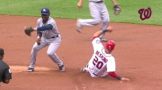 Desmond steals second