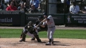 Raburn&#039;s three-run homer