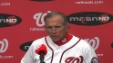Johnson on Strasburg's start